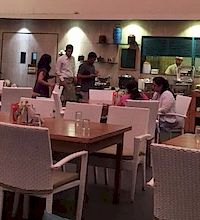 Flamboyante Cuffe Parade Restaurant in Cuffe Parade