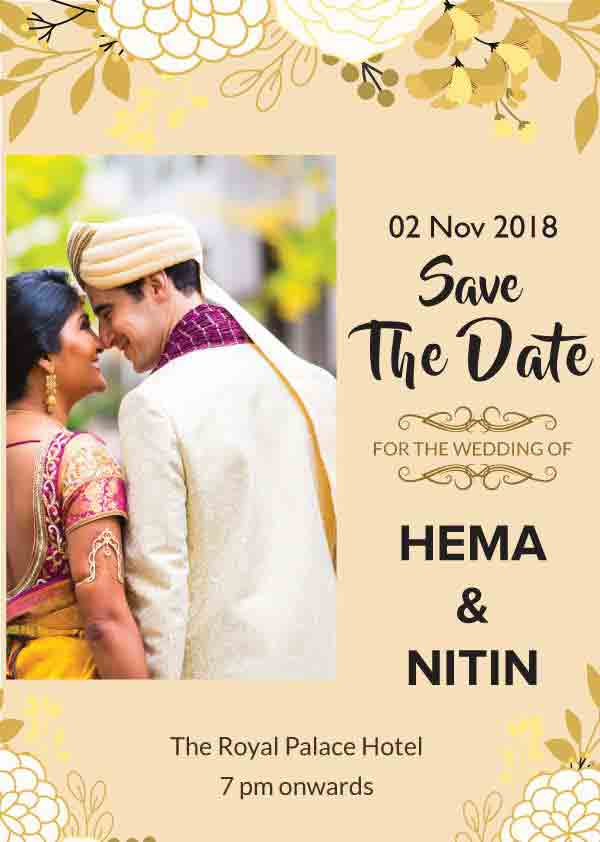 Indian Wedding Invitation Templates Free Online Invitation Card Maker By Bookeventz