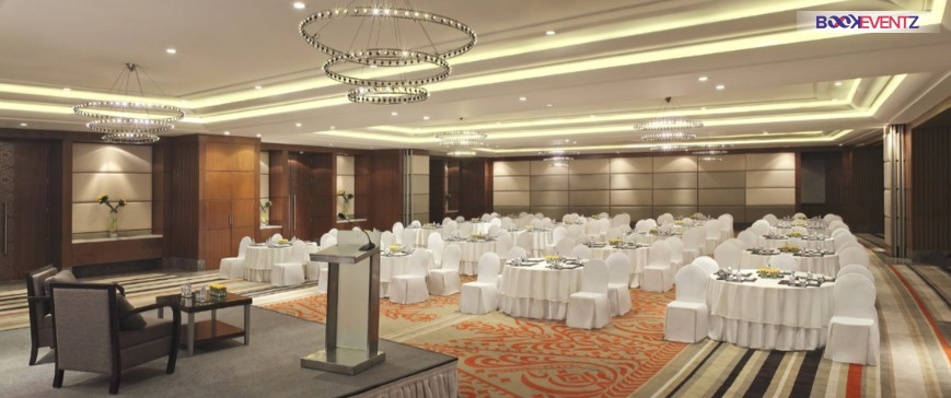 The Leela Ambience Convention Hotel Delhi NCR. Banquet hall in Shahdara